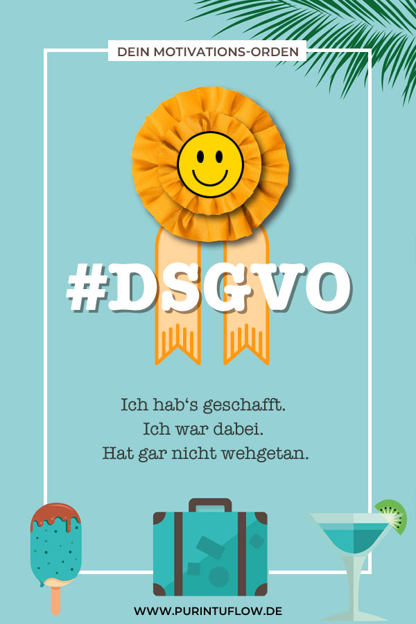 DSGVO-Orden zur Motivation